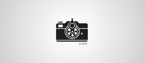 shooter gun logo design