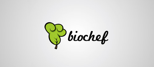 bio chef logo designs