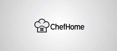 chef home logo designs