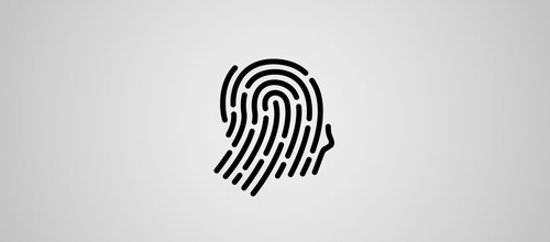 fingerprint profile logo designs