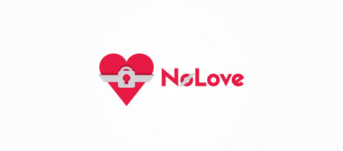 love lock logo designs