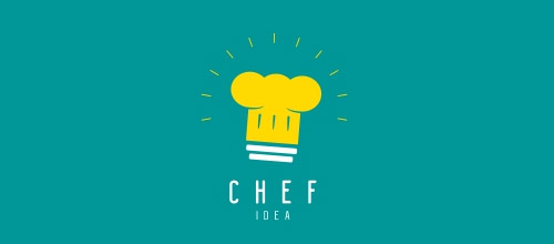 chef idea logo designs