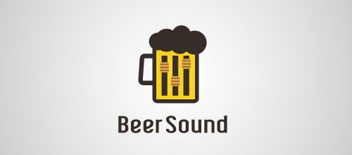 beer sound blogo designs