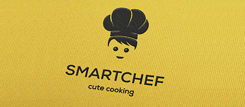 smart chef logo design