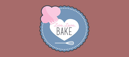 bake chef logo designs