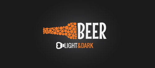 beer bottle logo designs