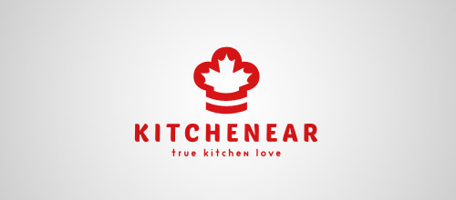 kitchenear chef logo designs