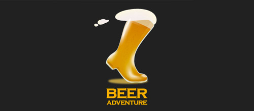 beer adventure logo designs