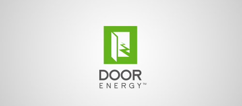 door energy logo designs