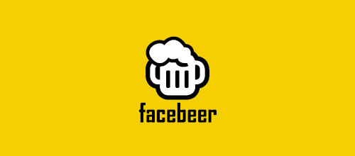 facebeer beer logo designs