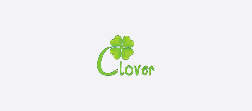 clover green logo designs