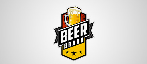 beer brand logo designs