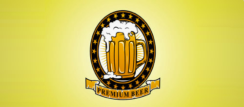premium beer logo designs