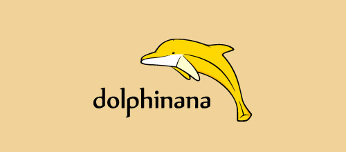 dolphinana logo design