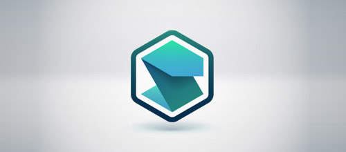 service hexagon logo