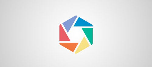 shutter hexagon logo