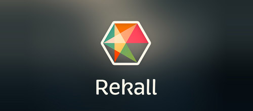 recall logo hexagon