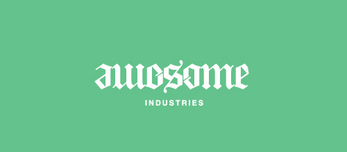 industries ambigram logo design