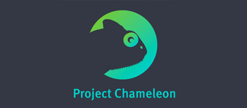 project chameleon logo design