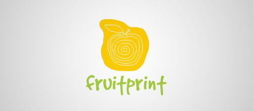 fruitprint logo designs