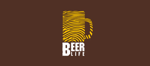 beer life logo designs