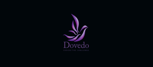 dovedo dove logo designs