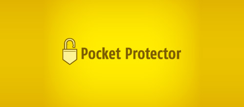 pocket padlock logo designs
