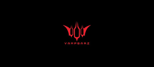 vampire bat logo design