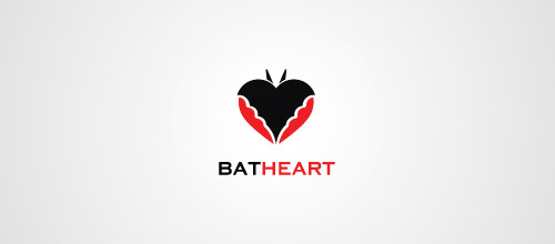 heart bat logo