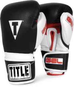 Gel Intense Sparring /Bag Gloves from TITLE