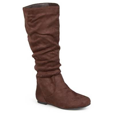 4e5e924f6a6 Journee Collection Women s Mid-Calf Slouch Regular Sized Riding Boot