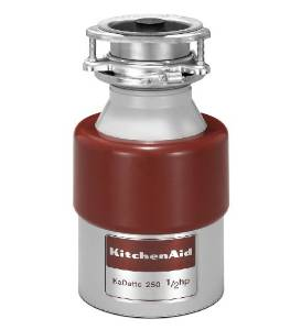 KitchenAid KCDB250G 0.5 HP Continuous Feed Garbage Disposal