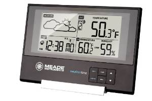 Meade Instruments Slim Line TE346W Weather Station