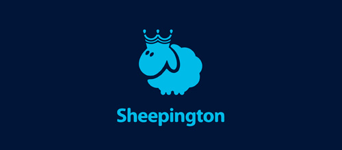 Sheepington logo designs