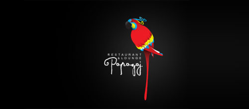 Papagaj logo designs