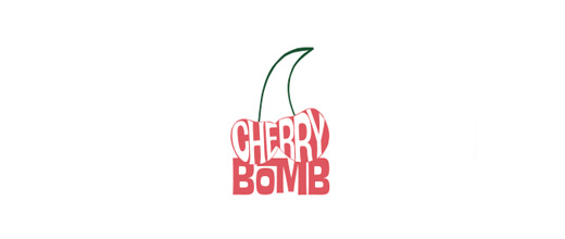 Bomb cherry logo designs