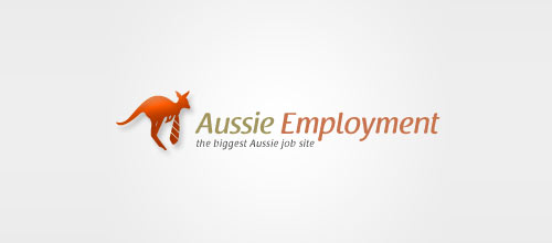 Aussie Employment logo designs