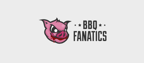 BBQ Fanatics logo designs