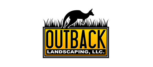 Outback Landscaping logo designs