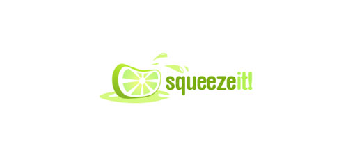 Squeeze It! logo designs