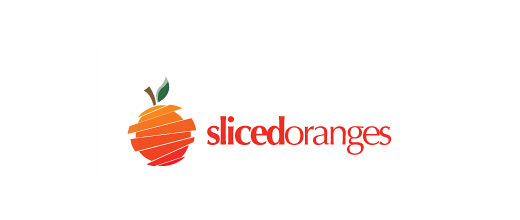 Sliced orange logo design