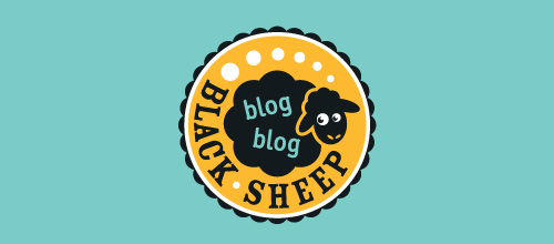 Blog Blog Black Sheep logo designs