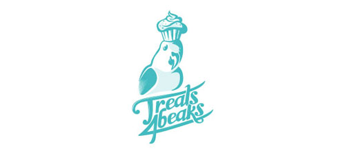 Treats 4 Beaks logo designs