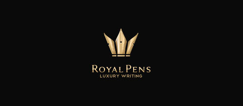 Royal Pens logo designs