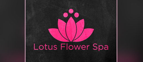 lotus spa logo designs