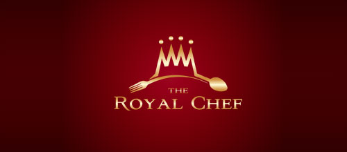 TheRoyalChef logo designs