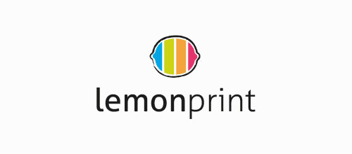 lemon print logo designs