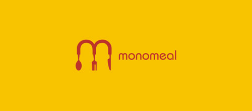 monomeal logo designs