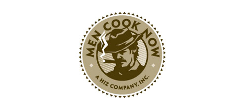 Men Cook Now logo designs