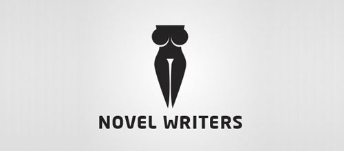 Novel Writers logo designs